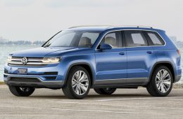 Volkswagen рассекретил новый кроссовер Teramont