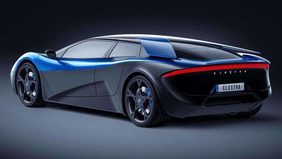 Электросуперкар Elextra сможет проезжать 600 километров на скорости 100 км/ч