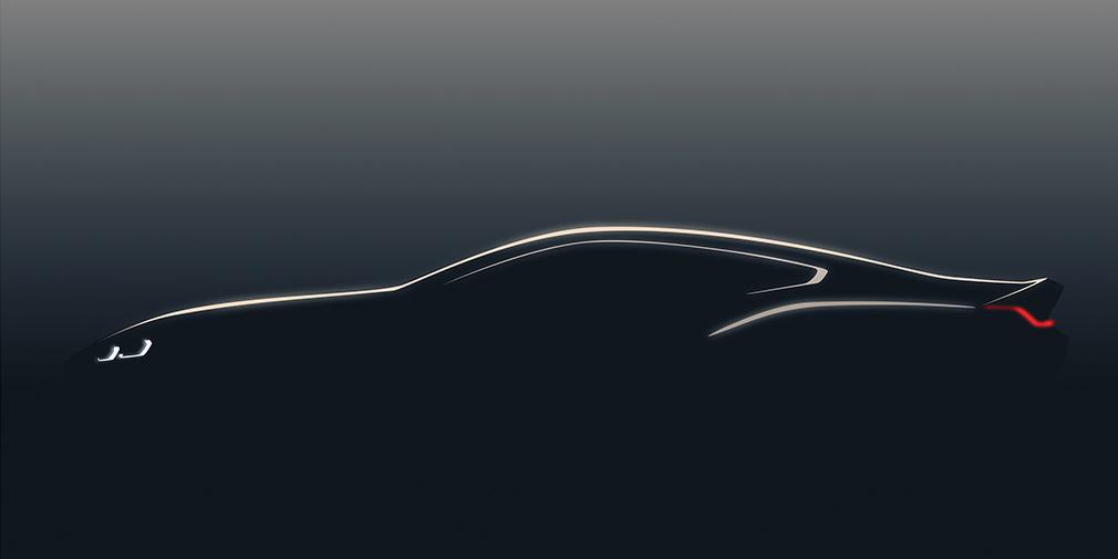 BMW показала тизер концепта 8-й серии