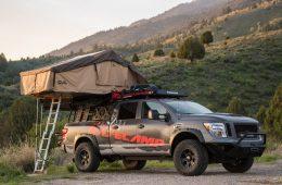 Nissan построил автомобиль с палаткой (настоящей)