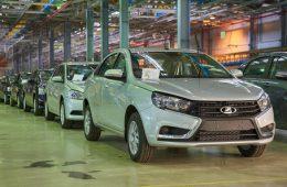В России растет производство автомобилей