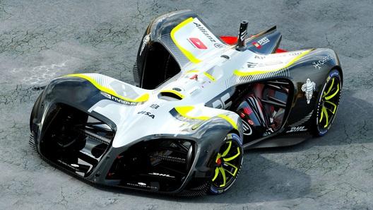 В Париже дебютировал болид для беспилотной «Формулы»