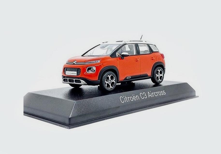 Дизайн нового кроссовера Citroen раскрыли на игрушечной машинке