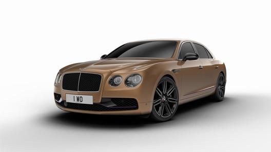 Bentley отделала титаном салон «дизайнерской» версии Flying Spur