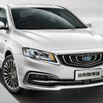 Компания Geely обновила самый дорогой китайский седан в России