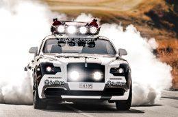 Шведский лыжник построил 810-сильный Rolls-Royce Wraith для бернаута