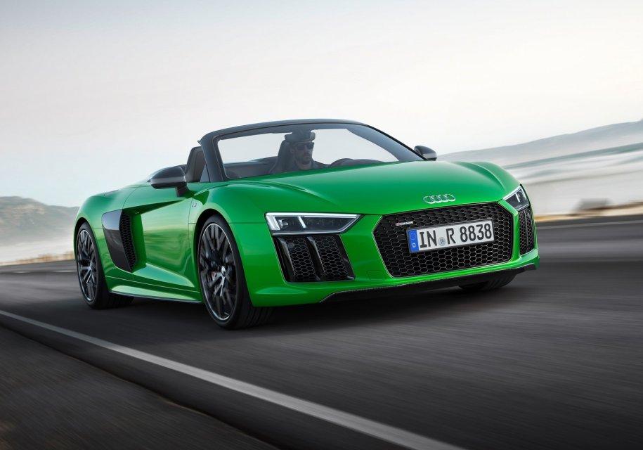 Представлена быстрейшая открытая модель Audi