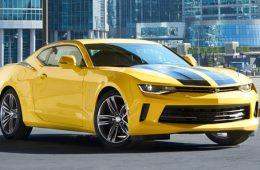 В России начали продавать автомобиль-копию Chevrolet Camaro из «Трансформеров»
