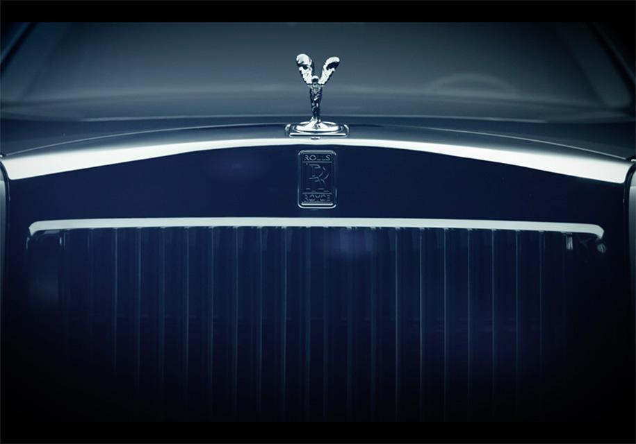 Rolls-Royce показал детали нового Phantom