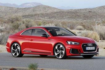 Купе Audi RS5 с 450-сильным мотором будет стоить от 5 млн рублей