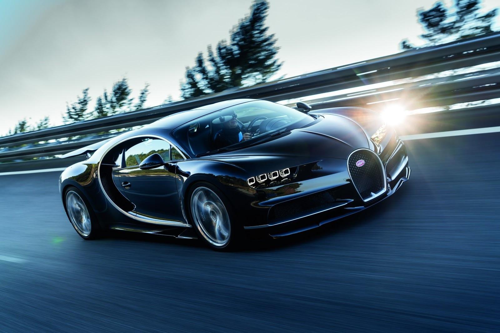 Bugatti получит электрический мотор