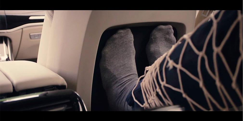Новый Audi А8 сможет делать пассажирам массаж ступней