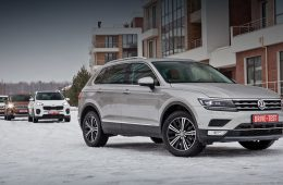 Volkswagen, Ford, Toyota, KIA › Сравниваем четвёрку Volkswagen Tiguan, Ford Kuga, Toyota RAV4 и Kia Sportage