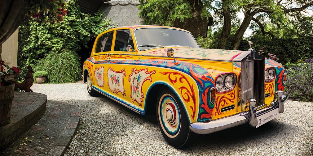 «Психоделический» Rolls-Royce Джона Леннона вернется в Великобританию