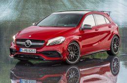 Mercedes-AMG A45 станет 400-сильным «Хищником»