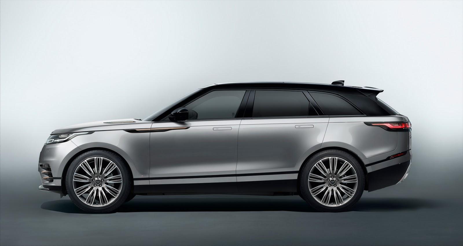 Range Rover Velar: в продаже в октябре