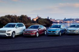 Все автомобили Volvo станут электрокарами или гибридами