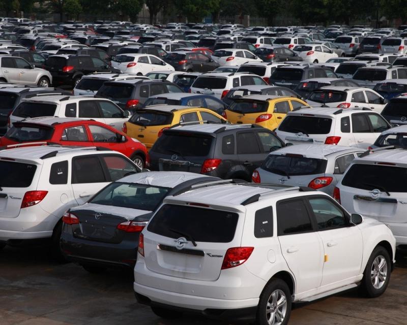 Продажи китайских автомобилей выросли в России
