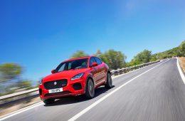 Jaguar показал новый спортивный кроссовер с точкой доступа Wi-Fi