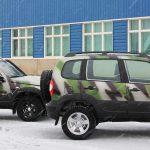 АвтоВАЗ сделает «Ниву» в камуфляжной окраске