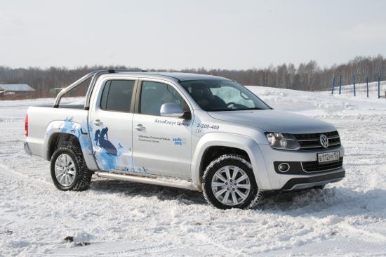 Volkswagen Amarok в естественной среде обитания