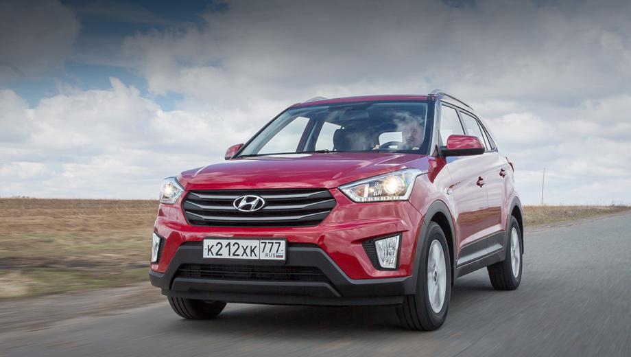 Кроссовер Hyundai Creta предложен в новых версиях