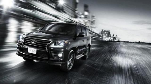 У внедорожника Lexus LX появилась версия «Начальник»