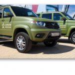 Компания УАЗ ведёт разработку спецавтомобилей для военных