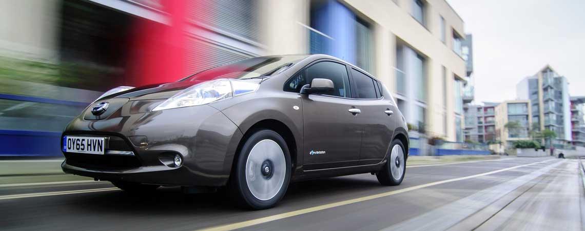 Новый Nissan Leaf «хвастается» аэродинамикой