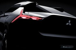 Mitsubishi анонсировала новую модель e-Evolution