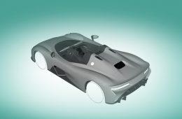 Спорткар Dallara Stradale получит несколько вариантов кузова
