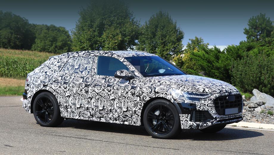 Паркетник Audi SQ8 пополнит ряды нового семейства
