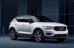 Компактный паркетник Volvo XC40 появится у нас весной