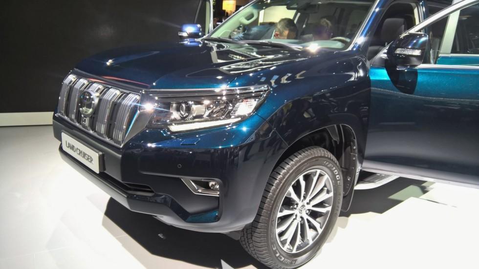 Шаг назад, шаг вперед: первое знакомство с новым Toyota Land Cruiser Prado