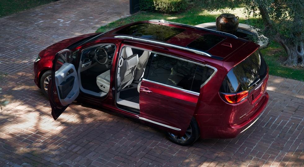 Дороже конкурентов: известна цена Chrysler Pacifica для России