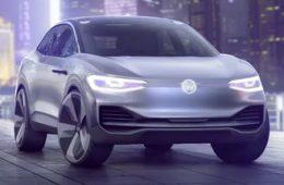Обновлённый кроссовер: Volkswagen показал прототип I.D. Crozz II