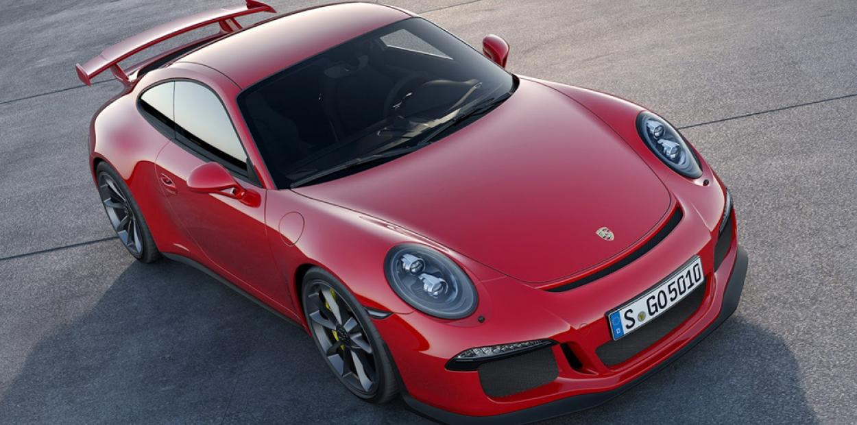 Porsche показал особую 911 GT3
