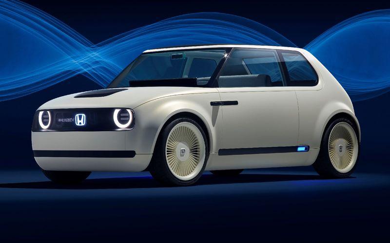 Honda показала хэтчбек будущего с дизайном из прошлого