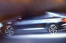 Седан Volkswagen Polo следующей генерации: новое изображение