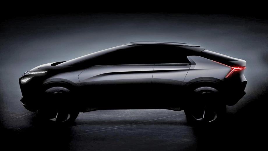 Концепт e-Evolution расскажет о флагмане Mitsubishi