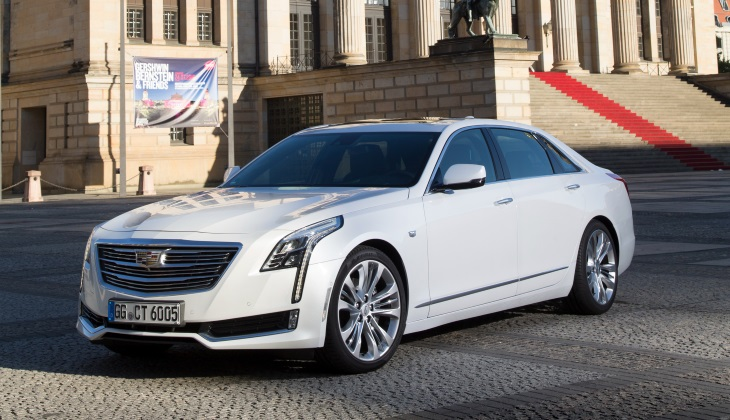 Роскошный седан Cadillac CT6 появится в России в конце года