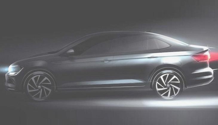 Рассекречена внешность нового седана Volkswagen Polo