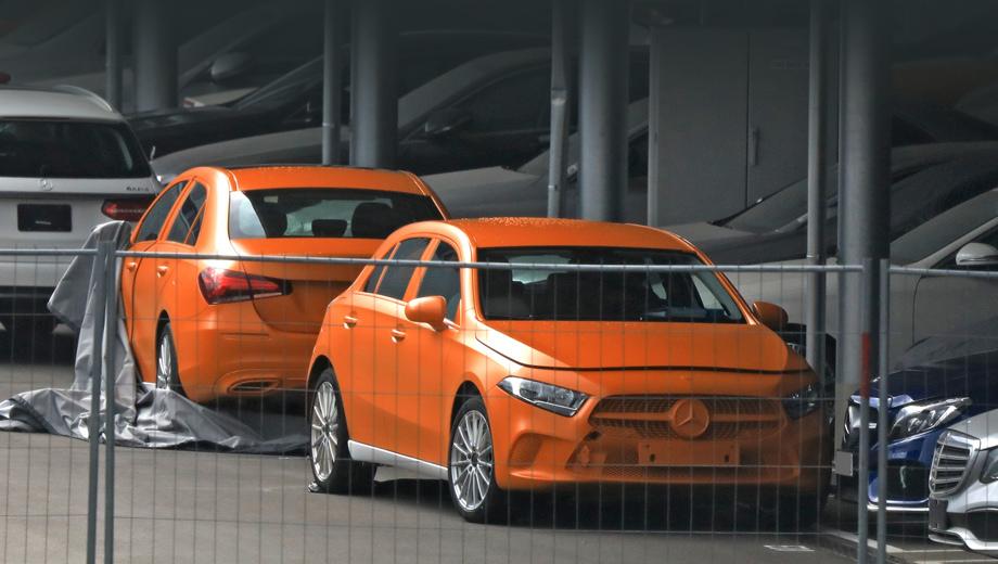 Хэтчбек и седан Mercedes А-класса остались без камуфляжа