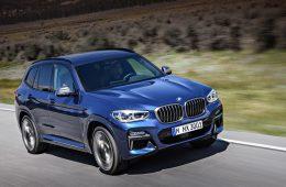 Фирма BMW придумала названия для электрических кроссоверов