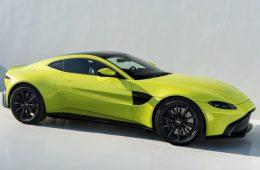 Купе Aston Martin Vantage: представлена модель нового поколения