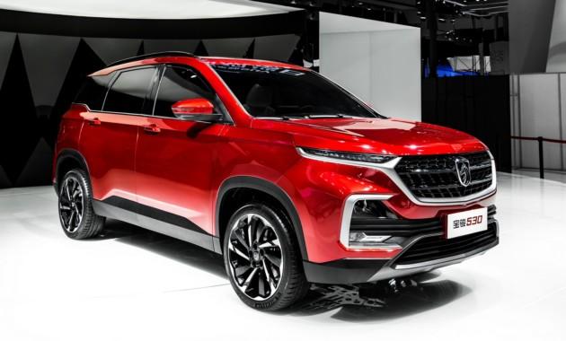 Совместная марка GM и SAIC готовится запустить в серию новый кроссовер