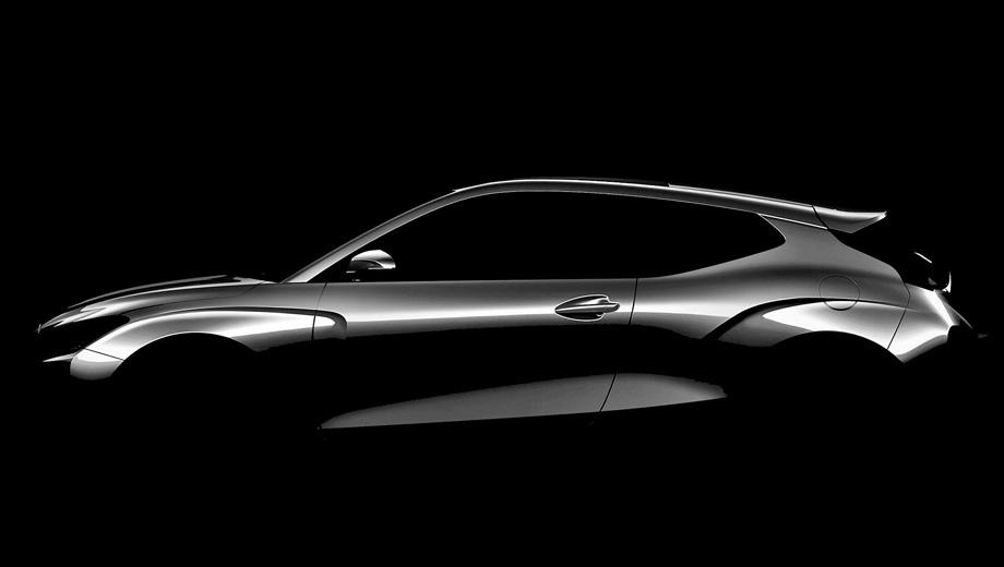 Новый хэтч Hyundai Veloster отпразднует премьеру в январе