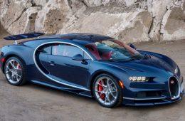Продан первый Bugatti Chiron для российского рынка