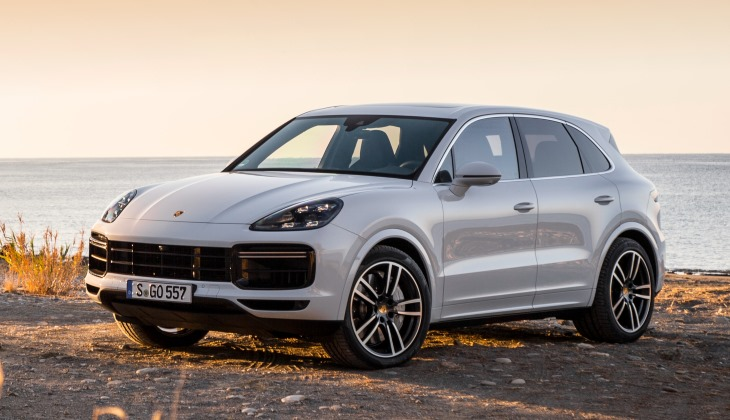Дилеры начали приём заказов на новый Porsche Cayenne