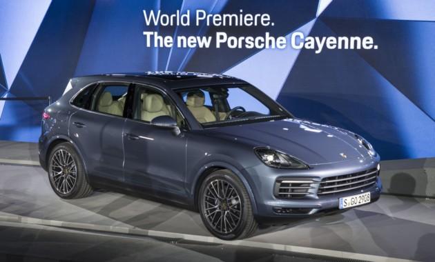 Известна дата старта российских продаж нового Porsche Cayenne